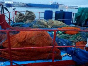 турецкая рыболовная шхуна