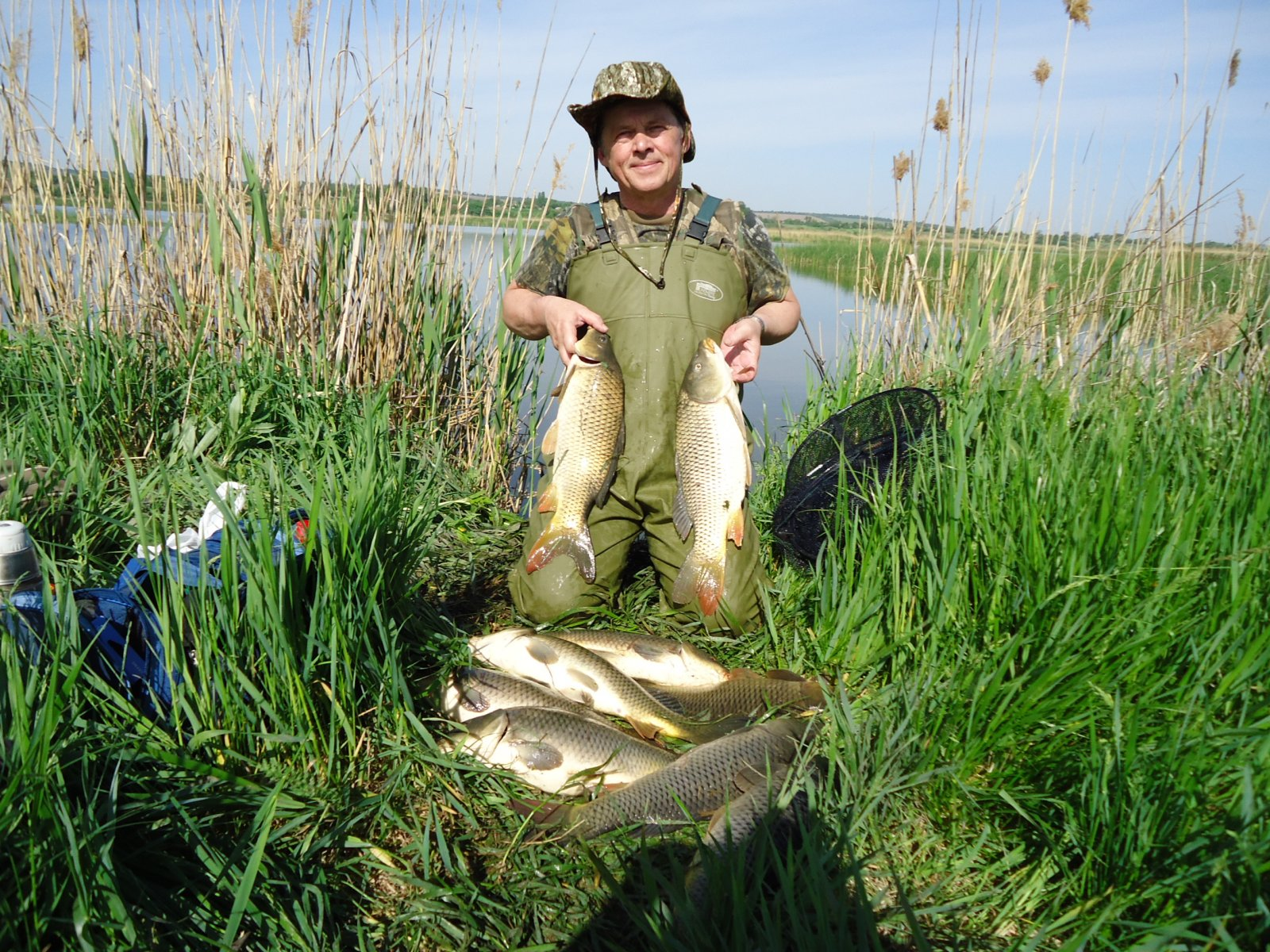 платная рыбалка в кировоградской области 2016