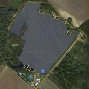 На данной схеме указаны места и количество вымосток, где проходит спортивная бойловая карповая рыбалка по принципу...