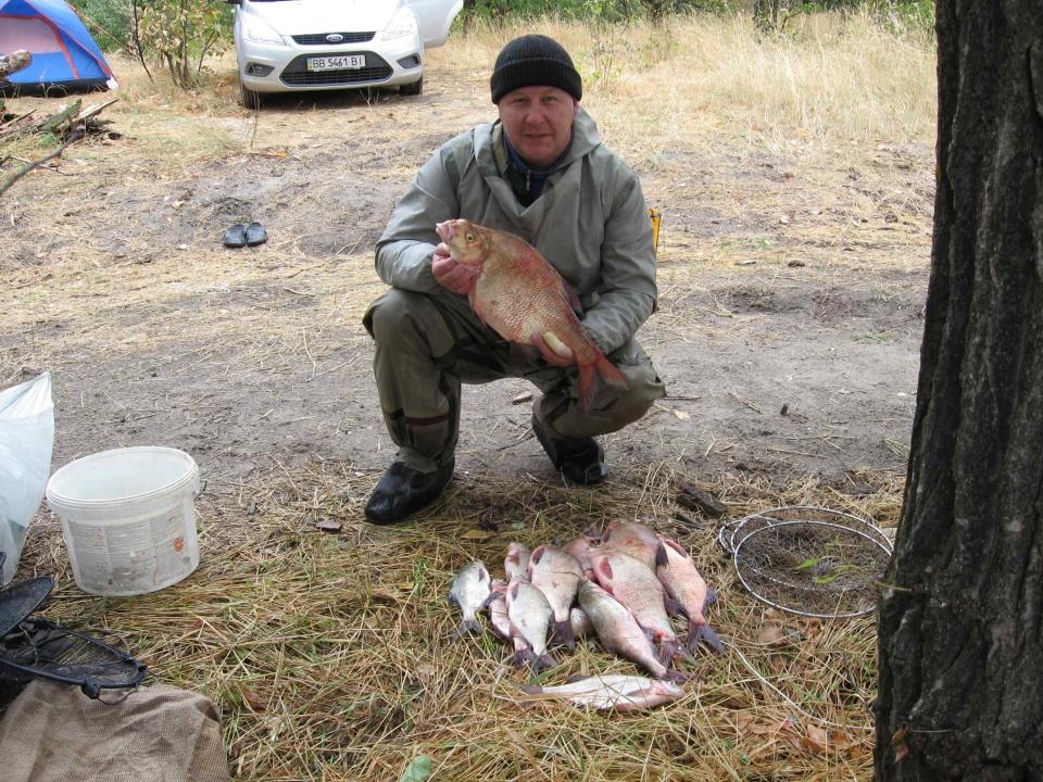 рыбалка на кию
